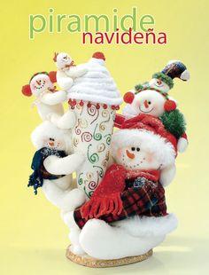 Moldes o patrones para elaborar hermosos muñecos navideños ALBUM 33 WhatSap +57 323 4670780 Book Crafts, Felt Crafts, Christmas Decorations, Christmas Ornaments, Holiday Decor, Snowman Crafts, Nativity, I Am Awesome, Favors