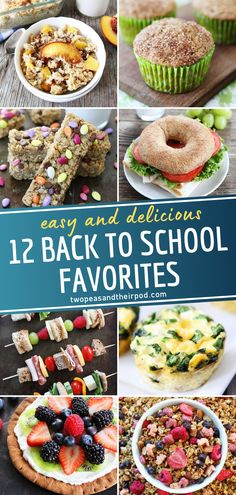 Going back to school soon? Nothing gets you ready like these 12 Back to School Favorites! From breakfast, lunch boxes, to snacks – all these ideas are kid-friendly. Start the year off with these easy recipes, and it is sure to be a successful one! Pin this for later! Easy Recipes, Snack Recipes, Easy Meals, Back To School Breakfast, Lunch Boxes, Kid Friendly Meals, Yummy Snacks, Healthy Kids, Delish