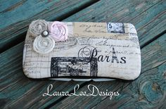 Vintage Paris Letters Boutique Style Travel by CrystalCreations108, $11.50