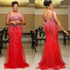 A very classic trending Aso ebi styles for the ladies. African Prom Dresses, African Wedding Dress, African Dress, African Fashion Ankara, African Print Fashion, Africa Fashion, Ball Dresses, Evening Dresses, Dashiki Prom Dress
