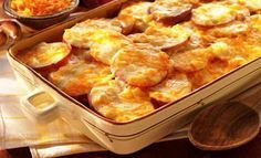 We say scalloped potatoes with our delicious Sargento® Fancy Shredded Colby-Jack Cheese. And everyone will say red potatoes have never tasted better. Enjoy them with any meal. Cheese Scalloped Potatoes, Cheese Potatoes, Scallop Potatoes, Food Network Recipes, Food Processor Recipes, Cooking Recipes, Healthy Recipes, Cheese Recipes, Potato Recipes