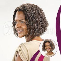 Cortes de cabelo médio do Beleza Natural. Corte 08 CM