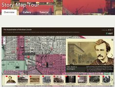 A Great Tool for Creating Stories Using Maps