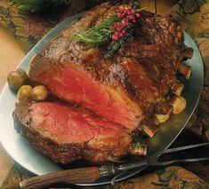 Herb-Crusted Rib Eye Roast