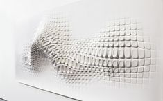 artist Ora-ito for his entry into the Wallpaper/ Reebok exhibition in London #HI-MACS #installation #3D art