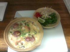 Picture is a little blurry. It's a Coconut Shrimp Soup.