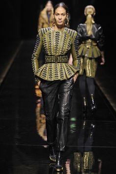 Paris Fashion Week Fall 2014 - Balmain Fall 2014