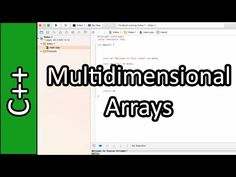 Multidimensional Arrays in C++ - Learn Programming