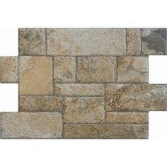 FLOORS 2000�6-Pack Fiyord Olive Glazed Porcelain Indoor/Outdoor Floor Tiles (Common: 16-in x 24-in; Actual: 15.75-in x 23.62-in)