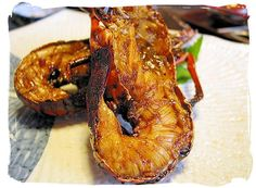 Crayfish is delicious, but Grilled Crayfish is divine. This recipe can be used as an appetizer or a main course serve with white rice, avocado salad and sweet fried plantains. Lobster Recipes, Seafood Recipes, Fish Dishes, Tasty Dishes, How To Cook Crayfish, Sweet Fried Plantains, Caribbean Recipes, Caribbean Food, South African Recipes