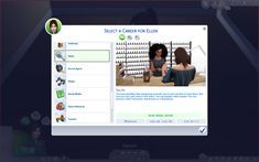 Salon CareerCreated for: The Sims 4 by ellenplop The Salon Career is a custom career. Patch required: This career requires the base game only. Salon You love spending time pampering. Sims 4 Teen, Sims Four, Sims 4 Toddler, Sims Cc, Sims 4 Cas Mods, Sims 4 Body Mods, Sims 4 Mods Clothes, Sims 4 Clothing, Sims 4 Nails