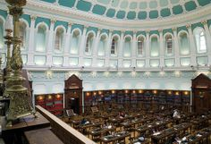 National Library of Ireland Reading Room (Dublin, Ireland)