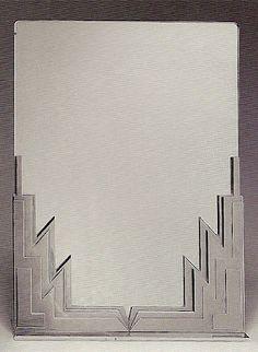 Art Deco Mirrors and Sculptures by Franz Hagenauer (1906-1986)   Interior Design…
