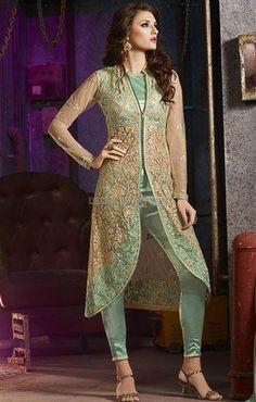 Designer Indo Western Dress For Ladies In Bangladesh Online Shopping Visit: http://www.designersandyou.com/dresses/designer-dresses #Indian Style #Designer #Designer Wear #Party Wear #LatestCollection #Modern #Fashionable #Trendy #Fabulous #Embroidered #Gorgeous #New Look
