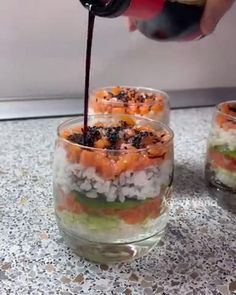 Best Salad Recipes, Sushi Recipes, Mexican Food Recipes, Cooking Recipes, Quick Dessert Recipes, Appetizer Recipes, Japanese Food, I Foods, Food To Make