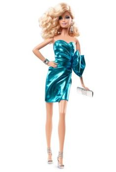 City Shine™ Barbie® Doll—Blue Dress | the-barbie-look-collection | The Barbie Collection