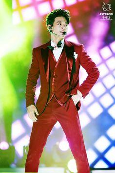 150809 SHINee Minho - SBS Inkigayo '2015 Korea Music Festival' in Sokcho
