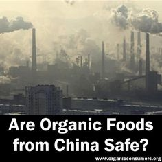 "Is your organic food really organic?  If you buy organic foods with ingredients from China, it may not actually be ""Organic"". Mike Adams from Natural News explores the corrupt world of Chinese organics, and how some American companies turn a blind eye to the issue."