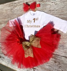 841453c8771 Items similar to MY FIRST CHRISTMAS outfit