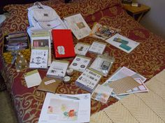 Loot from Stampin' Up! Convention 2013