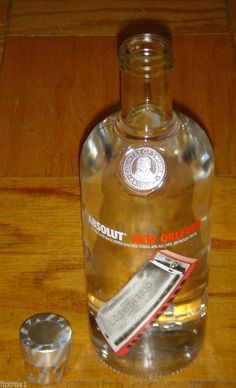 Absolut New Orleans Limited Edition Empty 750 ML Bottle of Black Pepper  Vodka ce61d1888658