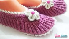 Dowry Two Chicks - Sehr stylische, einfache Booties für Videoaufnahmen . Baby Knitting Patterns, Knitting Stiches, Knitting Videos, Hand Knitting, Crochet Patterns, Knitted Slippers, Knitted Hats, Crochet Shoes, Baby Boots