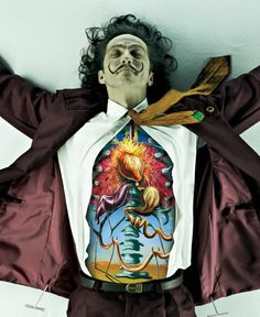 Amazing campaign for the MASP Art School in São Paulo. DDB Brazil it shows the organs of Dali, Vincent Van Gogh and Picasso
