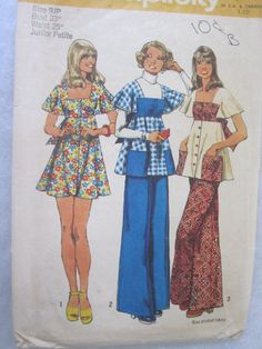 Vintage sewing Pattern  simplicity 5691 bell by rosesvintagesewing, $8.00