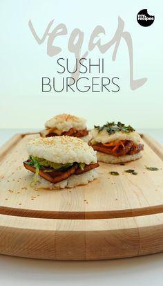 Vegan Sushi Burgers | MyRecipes.com
