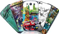 Smart Phone Cases with Pizzaz.