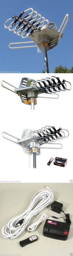 Antennas and Dishes: Noko Outdoor Hdtv Antenna With Motor Rotor, Wa2608 -> BUY IT NOW ONLY: $30.61 on eBay!