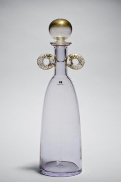 Bottle Made by the firm of Carlo Moretti S.r.l., Murano, Italy Designed 1994