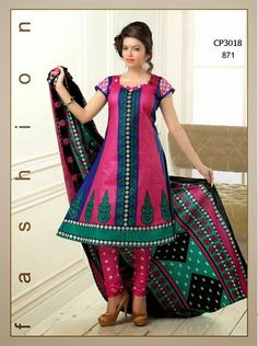 Latest Fashionable simple salwar kameez Wholesaler,Supplier,Exporter,Stockist and Manufacturer,Bollywood Celebrity Replica Anarkali Suit Dress materials,Readymade Designer Punjabi Wedding collection,Casual Printed Long Cotton exclusive party wear,best price sale tradditional indian womens clothes Churidar Suits, Anarkali Suits, Salwar Kameez, Suit Fabric, Bollywood Celebrities, Cotton Style, Pink Fashion, Cotton Dresses, Party Wear