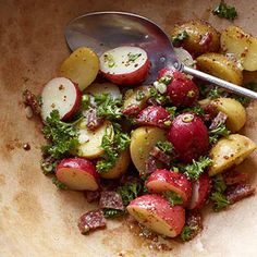 Potato Salad with Sausage and Grainy Mustard Dressing From Better Homes and Gardens, ideas and improvement projects for your home and garden plus recipes and entertaining ideas.