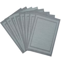 Vinyl Placemats for Dining Table