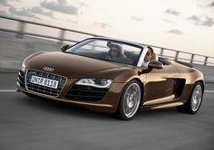 Frankfurt Motor Show 2009: Audi R8 5.2 FSI Spyder Officially Unveiled