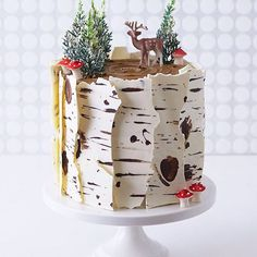 1st prize for most adorable holiday cake goes to the @cakegirls - check out that bark!!!