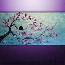 Image result for abstract tree paintings