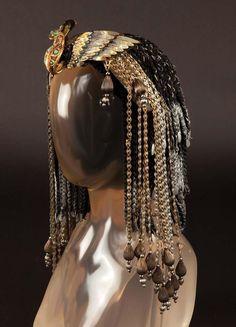 Diy Cleopatra Headdress Egyptian costume inspirations on pinterest cleopatra