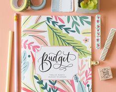 Happy Planner Budget Pages Finance Printables Happy Planner Budget Planner Book, Happy Planner Kit, Budget Binder, Bill Payment Checklist, Savings Chart, Budget Envelopes, Envelope Budget, Cash Envelopes, Budgeting Worksheets