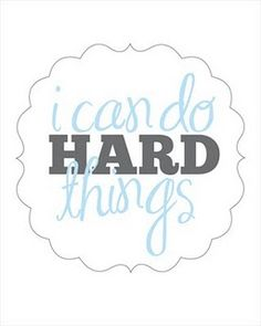 I thank Kalynn Sheffer every day for teaching me this saying. It has really helped me get thru things.
