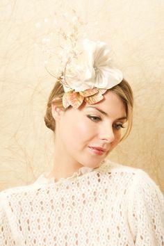 Garden headpiece from Suzy O'Rourke