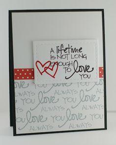 Card by Lynn Mangan using Verve Stamps.  #vervetamps