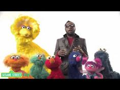 "Sesame Street: Will.i.am Sings ""What I Am"" - going to teach this to my new class in PSHE"