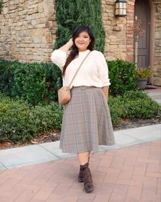 Fat Girl Outfits, Modest Outfits, Fall Outfits, Cute Outfits, Fat Girl Fashion, Chubby Fashion, Friday Outfit, Mode Plus, Looks Plus Size