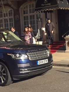Kate visited The Goring Hotel