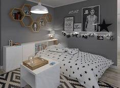 Wymarzony pokój dla nastolatki - Lovingit.pl Apartment Makeover, Girl Bedroom Designs, Teen Bedroom, New Room, Kid Beds, Room Decor, Lemur, Ideas, Child Room