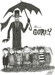 edward gorey | Tumblr