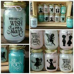 Disney Inspired Mason Jars