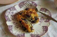 The Little Gnomes Home: Real Food Series: Grain free Blueberry Cakes